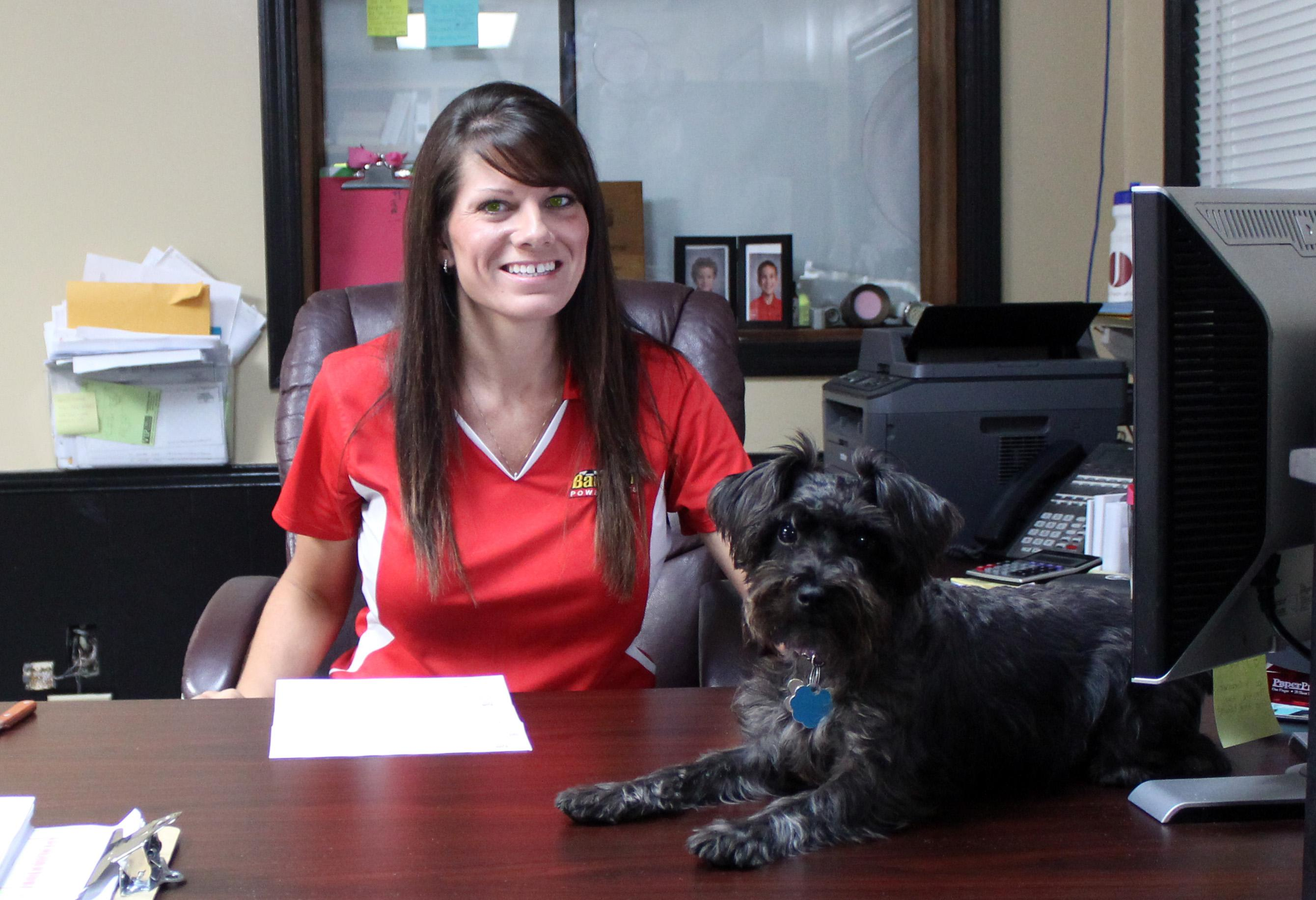Pebbles Bargeron and Kayley Bowers | Accounting Office