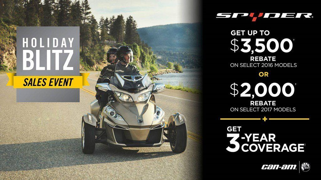 Can-Am Spyder Holiday Blitz Sales Event